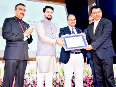 Commissioner of Customs Chennai Airport Rajan Chaudhary wins WCO Certificate of merit